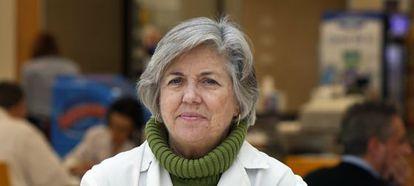 Victoria Castel, oncóloga infantil en el hospital La Fe.