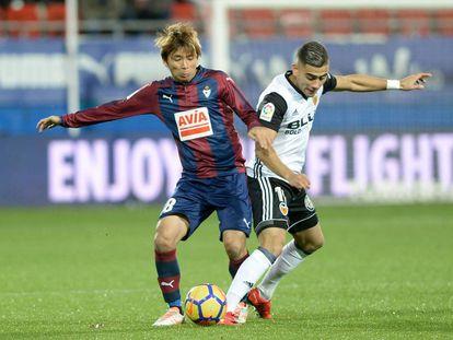 El Eibar se enfrenta al Valencia en la jornada 16 de la Liga Santander