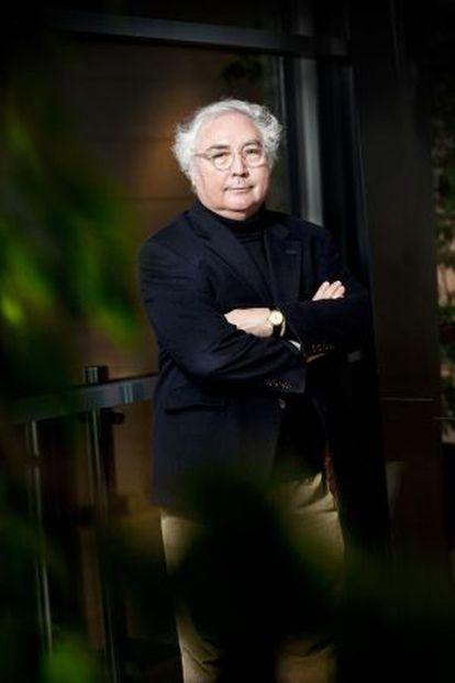 El catedrático de Sociología Manuel Castells.