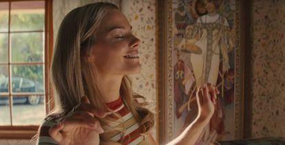 En la película 'Érase una vez en Hollywood', de Quentin Tarantino, Margot Robbie interpreta a la actriz asesinada Sharon Tate.