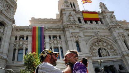 La bandera arcoiris, en 2019.