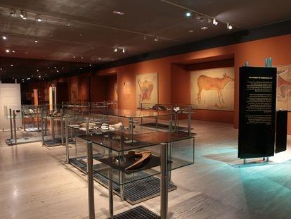 La exhibición 'Arte prehistórico. De la roca al museo' estará en el MAN hasta el 31 de julio.
