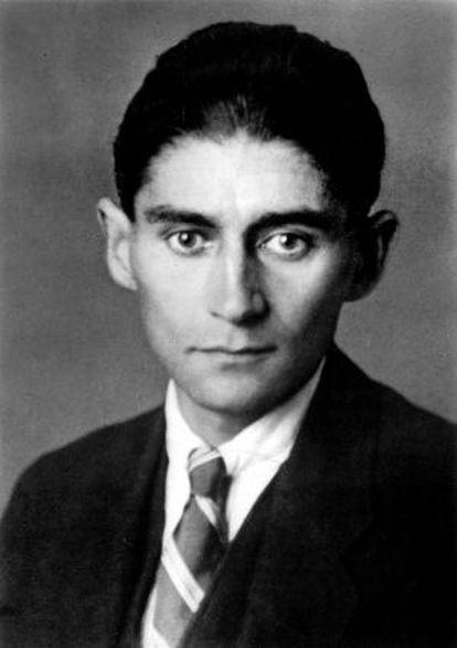 Kafka, en una imagen de un libro de K. Wagenbach.