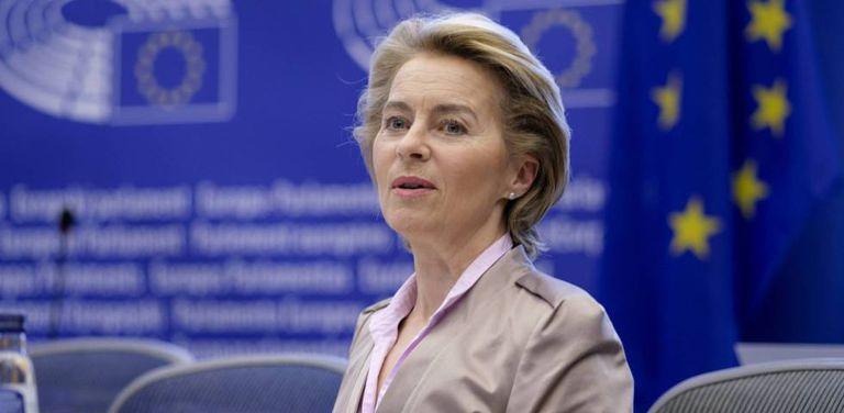La presidenta de la Comisión, Ursula von der Leyen.