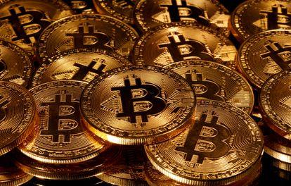 Representaciones de la moneda virtual Bitcoin