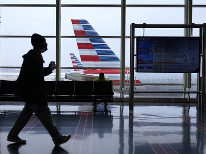 El aeropuerto Ronald Reagan de Washington.