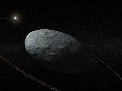 Astrónomos españoles estudian Haumea con un detalle sin precedentes