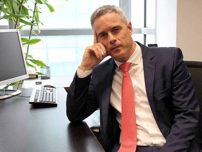 El director de Emprendimiento e Innovación del Gobierno vasco Aitor Urzelai.