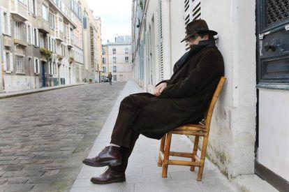 El escritor y cineasta afgano Atiq Rahimi, en París.