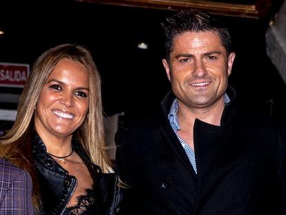 Alfonso Merlos y Marta López en un evento en Madrid en noviembre de 2019.