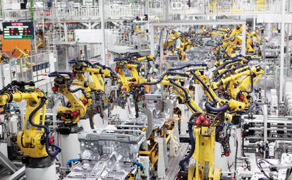 Fábrica en Chongqing, China.