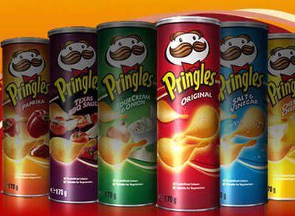 Cajas de Pringles