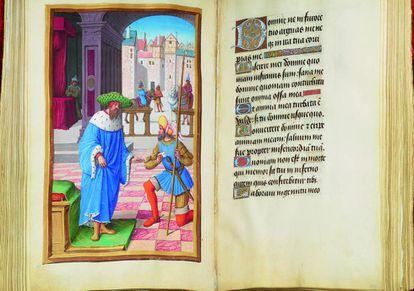 Copia del códice 'Libro de Horas de Enrique VIII' (1500).