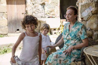 Un fotograma de 'Estiu 1993', filme catalán que representará a España en los Oscar.
