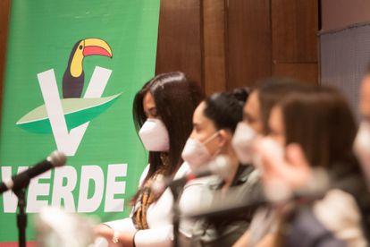 Elecciones México 2021: El Partido Verde le saca el máximo beneficio a su alianza con Morena   Elecciones mexicanas 2021   EL PAÍS México