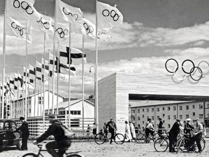 La villa olímpica de Helsinki en 1952. Arquitectura social y guerra fría, todo en uno.