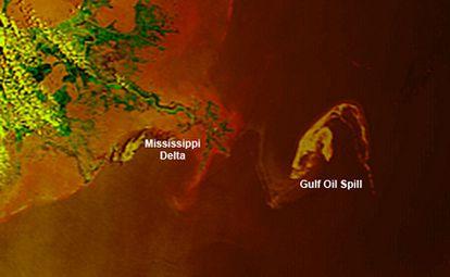 Imagen en alta resolución tomada por el satélite más avanzado de la agencia EUMETSAT.