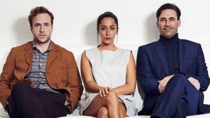 Rafe Spall, Oona Chaplin y Jon Hamm estarán en el capítulo especial de Navidad de 'Black Mirror'.