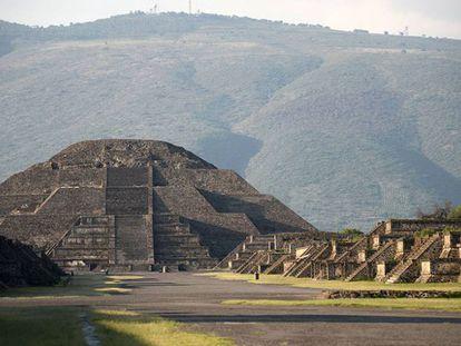 Zona Arqueológica de Teotihuacan, en México.