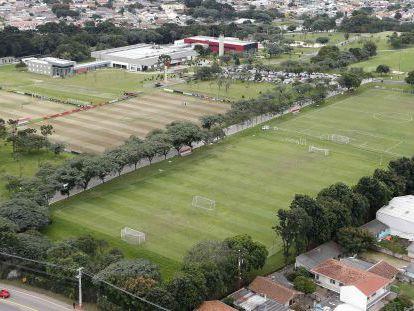 Vista aérea del centro de entrenamiento de Caju.