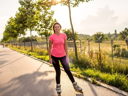 Una de las ventajas de patinar es poder practicarlo al aire libre y disfrutando del entorno. GETTY IMAGES.