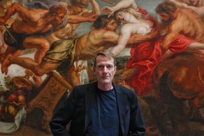 Lee Child, en el Museo del Prado en 2014.