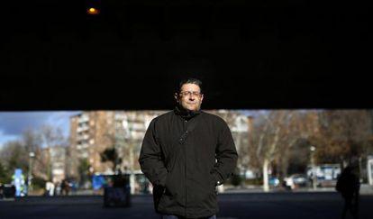 Manuel Martín, madrileño en paro que acude como público a programas de Televisión.