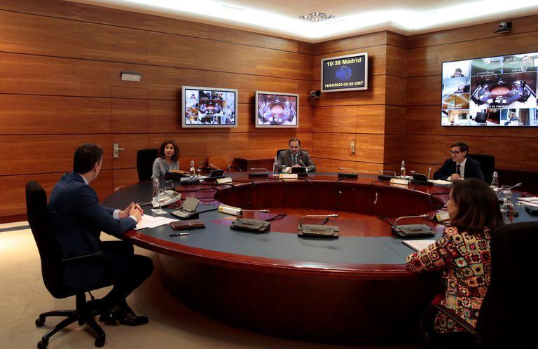 El jefe del Ejecutivo, Pedro Sánchez, preside la reunión del Consejo de Ministros este martes.