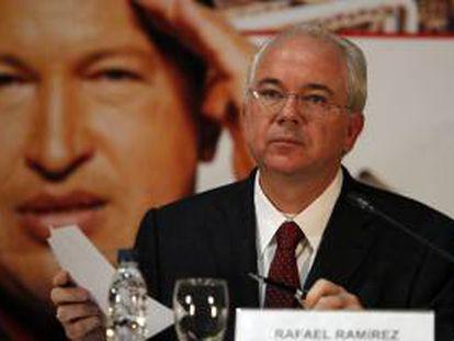 El ministro venezolano de petróleo y minería, Rafael Ramírez. EFE/Archivo