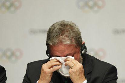 Lula da Silva, al ganar los Juegos Olímpicos para Río.