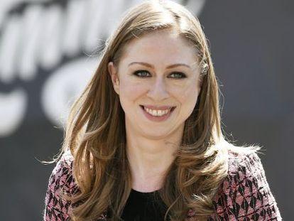 Chelsea Clinton, hija de Bill y Hillary Clinton.