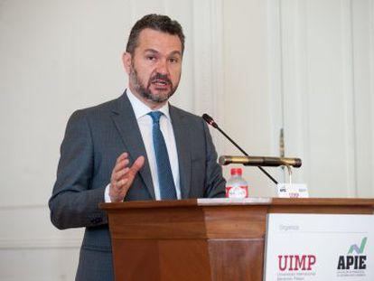 Rodrigo Buenaventura, presidente de la CNMV, en la Universidad Menéndez Pelayo de Santander
