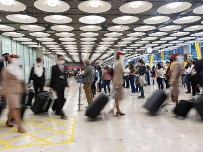 Imagen de la Terminal T4 del Aeropuerto Adolfo Suárez Madrid.