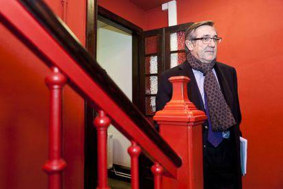 El alcalde de Santiago, Ángel Currás