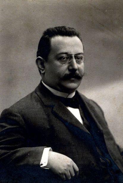 El presidente de la Mancomunitat, Enric Prat de la Riba.