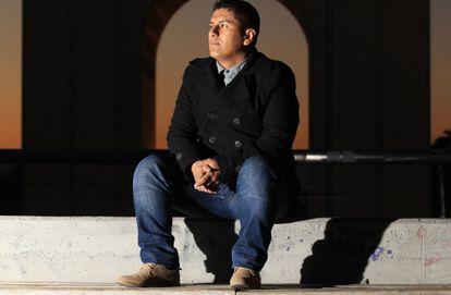 El peruano Luis Enrique Melo, que llegó a España con 18 años para vivir con su padre.