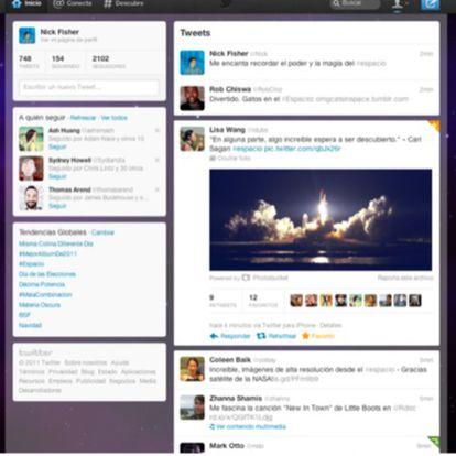 Cambios en el diseño de Twitter.