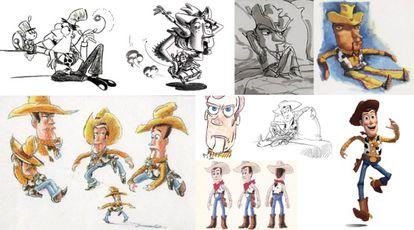 La evolución del sheriff Woody.