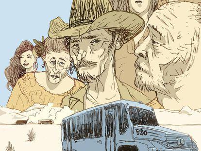 Carretera, droga y 'rock and roll': la gira mexicana de un escritor extremo