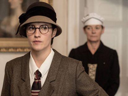 Ruth Bradley como Agatha Christie en 'La verdad del crimen'.