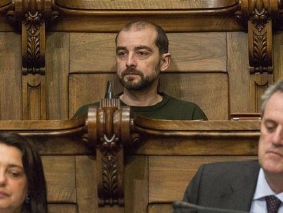 El concejal Gerard Ardanuy.