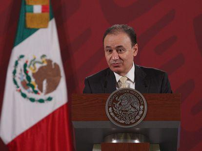 El secretario de Seguridad de México, Alfonso Durazo.