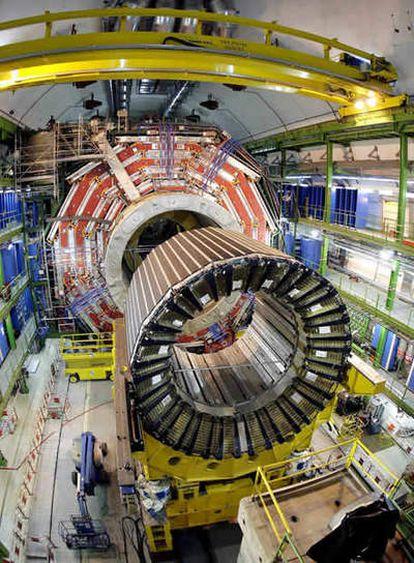 Vista del Gran Colisionador de Hadrones (LHC, por sus siglas en inglés).