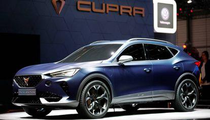 El nuevo Cupra Formentor verá la luz en el mercado el próximo año.