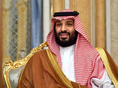 Mohamed Bin Salmán, en 2019 en Riad.
