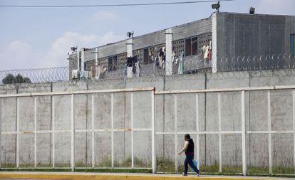 El penal de Santa Martha Acatitla, en el Distrito Federal.