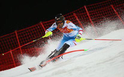 Matt, durante una prueba en Sochi.