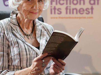 La escritora canadiense Alice Munro en 2009 en el Trinity College, en Dublín.