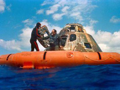 Casi todos los astronautas se divorciaron, Buzz Aldrin cayó en el alcoholismo y otros sintieron la llamada de seres sobrenaturales