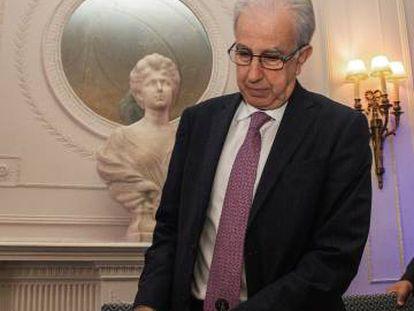 El subgobernador del Banco de España, Javier Alonso
